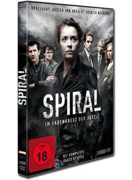Spiral: Staffel 1 Box (3 DVDs)