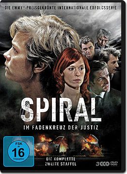 Spiral: Staffel 2 Box (3 DVDs)