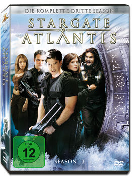 Stargate Atlantis: Season 3 Box (5 DVDs)