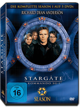 Stargate Kommando SG-1: Season 01 Box (5 DVDs)