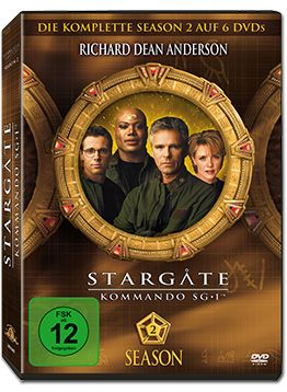 Stargate Kommando SG-1: Season 02 Box (6 DVDs)