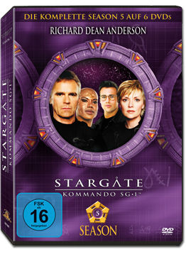 Stargate Kommando SG-1: Season 05 Box (6 DVDs)