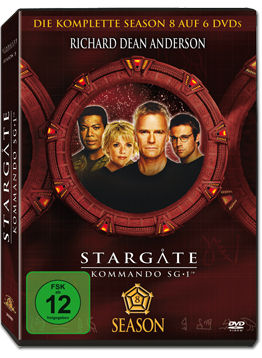 Stargate Kommando SG-1: Season 08 Box (6 DVDs)
