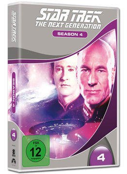 Star Trek The Next Generation: Staffel 4 Box (6 DVDs)