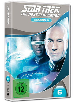 Star Trek The Next Generation: Season 6 Box (6 DVDs)