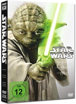 Star Wars Episode 1-3 Trilogie (3 DVDs)