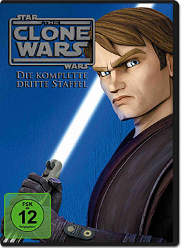 Star Wars: The Clone Wars - Die komplette 3. Staffel (5 DVDs)