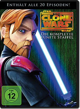 Star Wars: The Clone Wars - Die komplette 5. Staffel (4 DVDs)