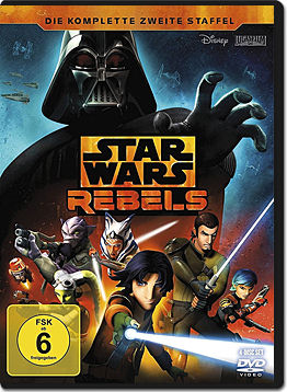 Star Wars Rebels: Staffel 2 Box (4 DVDs)