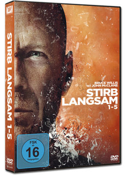 Stirb Langsam 1-5 Box (5 DVDs)