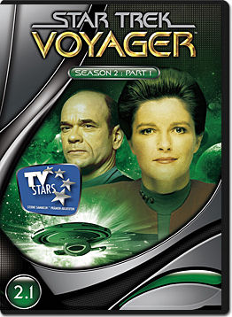 Star Trek Voyager: Season 2 Part 1 (3 DVDs)