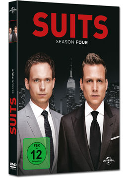 Suits: Staffel 4 Box (4 DVDs)