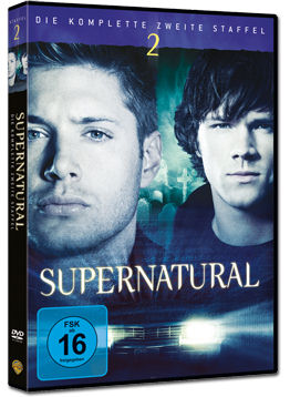 Supernatural: Staffel 02 Box (6 DVDs)