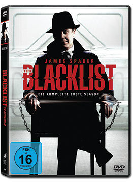 The Blacklist: Staffel 1 Box (6 DVDs)