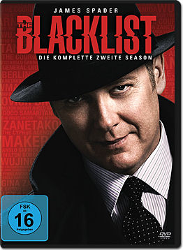 The Blacklist: Staffel 2 Box (5 DVDs)