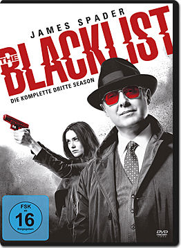 The Blacklist: Staffel 3 Box (6 DVDs)