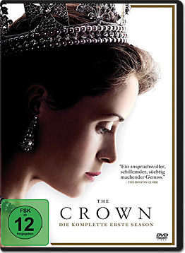The Crown: Staffel 1 Box (4 DVDs)