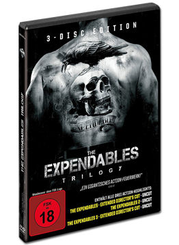 The Expendables - Trilogy (3 DVDs)