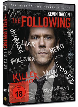 The Following: Staffel 3 Box (4 DVDs)