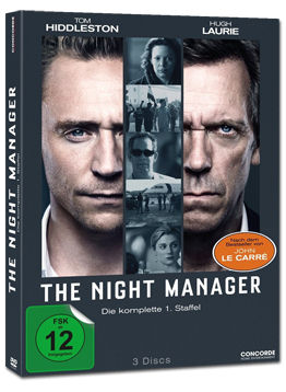 The Night Manager: Staffel 1 Box (3 DVDs)