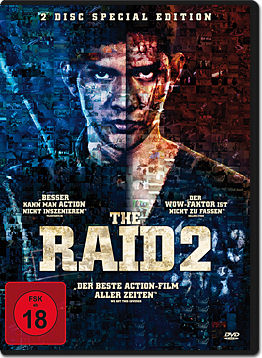 The Raid 2 - Special Edition (2 DVDs)