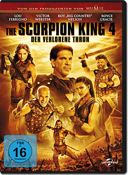 The Scorpion King 4: Der verlorene Thron