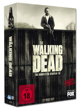 The Walking Dead: Staffel 1-6 Box (27 DVDs)