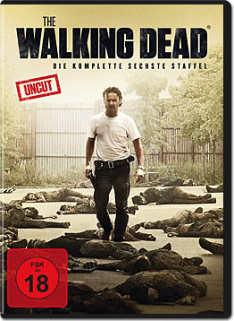 The Walking Dead: Staffel 6 Box (6 DVDs)