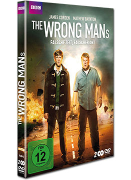 The Wrong Mans: Staffel 1 Box (2 DVDs)