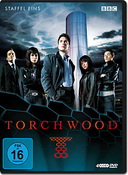 Torchwood: Staffel 1 Box (4 DVDs)