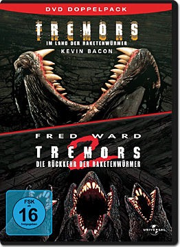 Tremors 1+2 Doppelpack (2 DVDs)