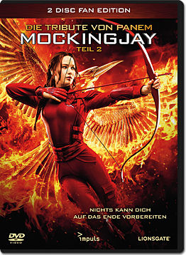 Die Tribute von Panem: Mockingjay Teil 2 - Fan Edition (2 DVDs)