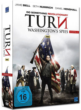 Turn: Washington's Spies - Staffel 2 Box (4 DVDs)