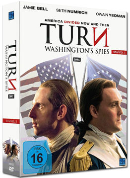 Turn: Washington's Spies - Staffel 3 Box (4 DVDs)