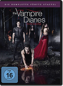 The Vampire Diaries: Die komplette Staffel 5 Box (5 DVDs)