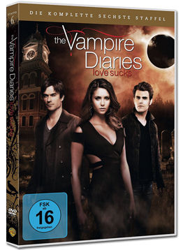 The Vampire Diaries: Die komplette Staffel 6 Box (5 DVDs)
