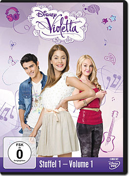 Violetta: Staffel 1 Vol. 01 (2 DVDs)