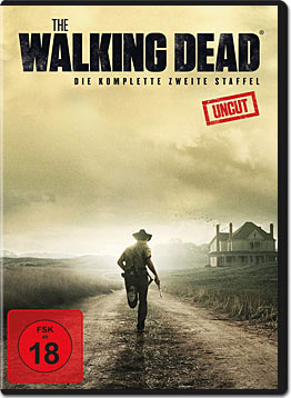 The Walking Dead: Staffel 2 Box (4 DVDs)