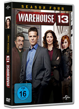 Warehouse 13: Season 4 Box (5 DVDs)