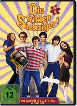 Die wilden Siebziger: Staffel 7 Box (4 DVDs)