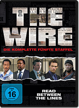 The Wire: Staffel 5 Box (4 DVDs)