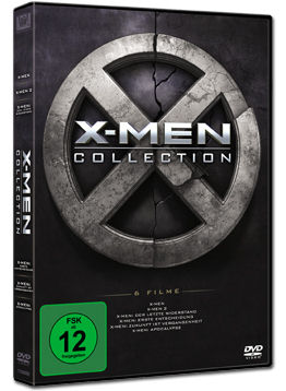 X-Men - 1-6 Collection (6 DVDs)