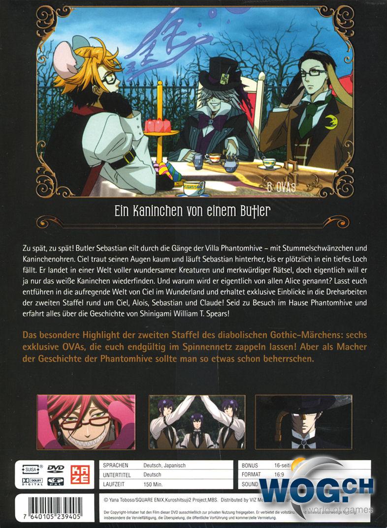 Black butler staffel 2 vol 3 ovas