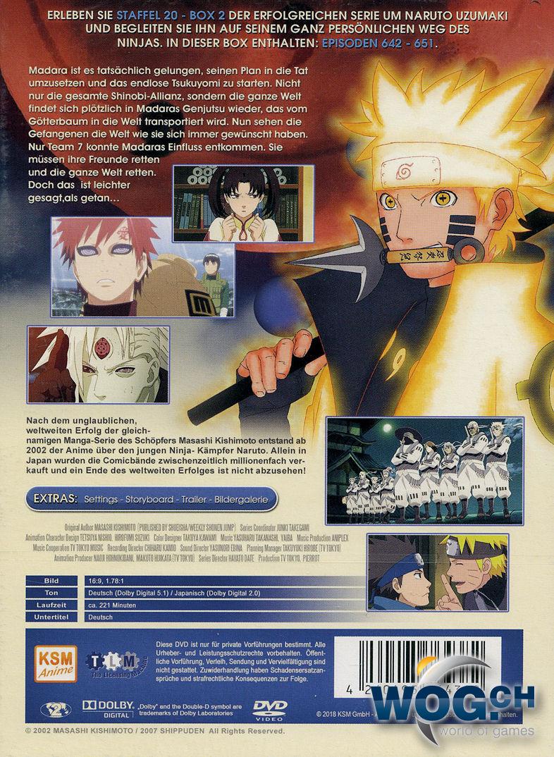 Naruto Shippuden Staffel 20