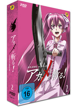 Akame ga Kill! Vol. 2 - Limited Edition (2 DVDs)