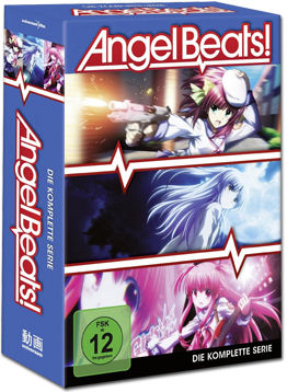 Angel Beats! - Die komplette Serie (3 DVDs)