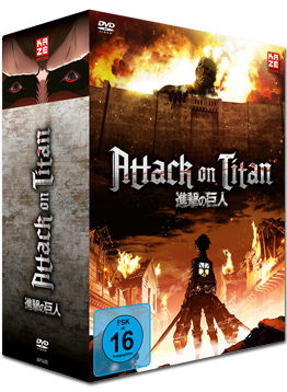 Attack on Titan Vol. 1 - Limited Edition (inkl. Schuber)