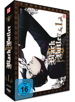 Black Butler II Vol. 1 (2 DVDs)