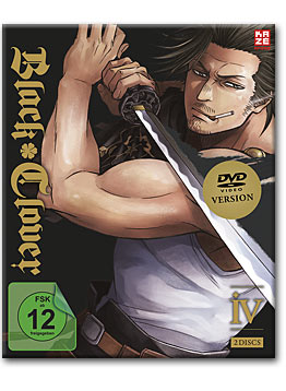 Black Clover Vol. 4 (2 DVDs)