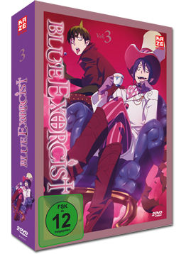 Blue Exorcist Vol. 3 (2 DVDs)